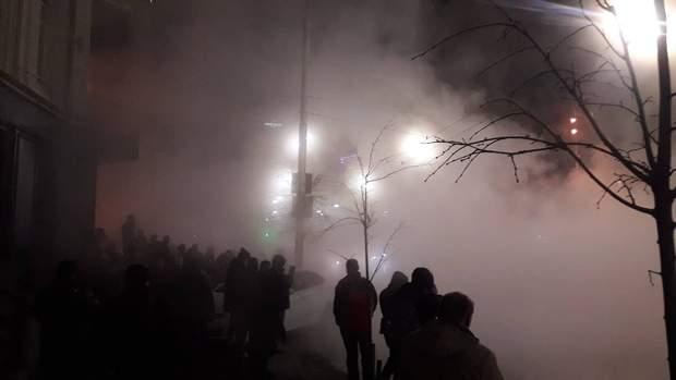 Київ прорвало трубу окріп щота руставеллі