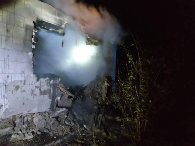 Пожежа сталася у Запорізькій області