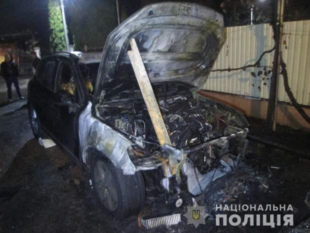 підпал авто в Ужгороді