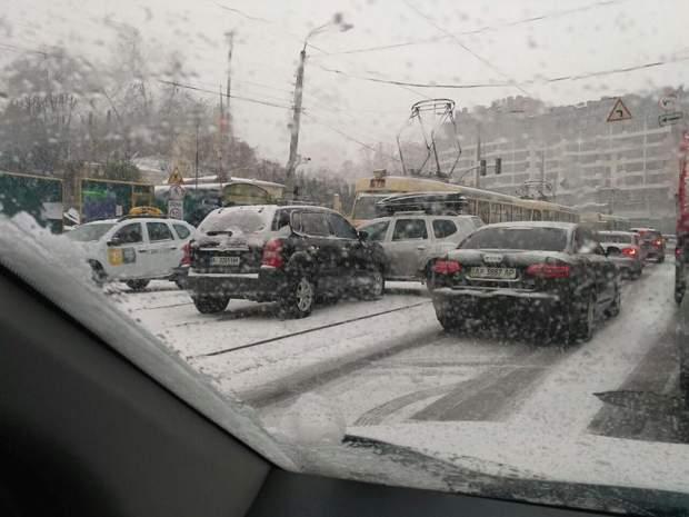 Київ Сніг ДТП