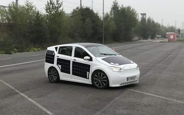 Авто компанії Sono Motors з сонячними панелями