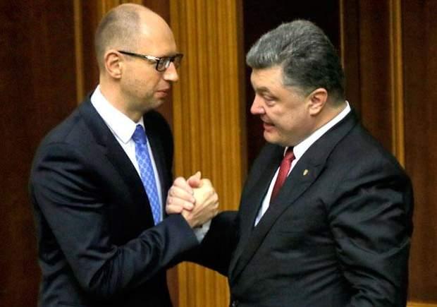 Арсеній Яценюк і Петро Порошенко колись були союзниками