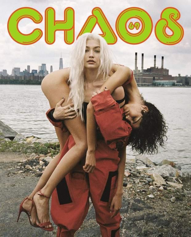 Джіджі Хадід і Міка Арганараз для Chaos Sixty Nine