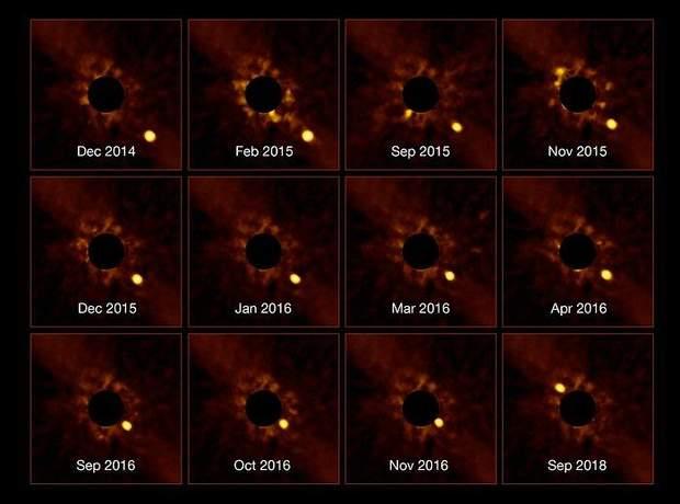 Як рухається екзопланета