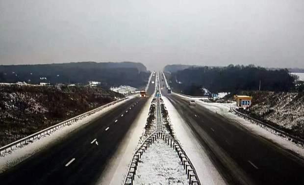 сніг  траса Київ-Одеса