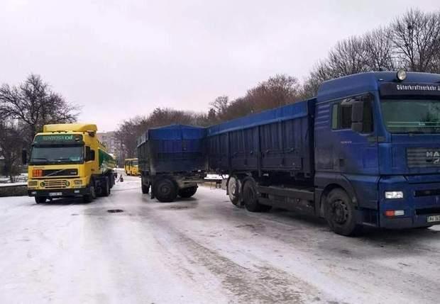 Аварія ДТП вантажівка бензовоз