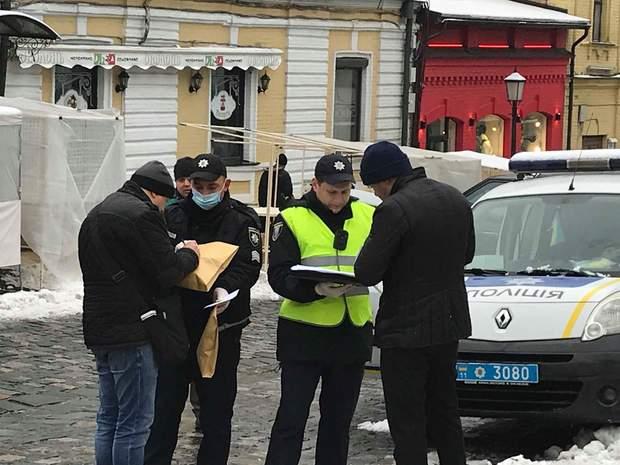поліція розслідування Андріївська церква