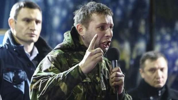 промова Володимира Парасюка на Майдані