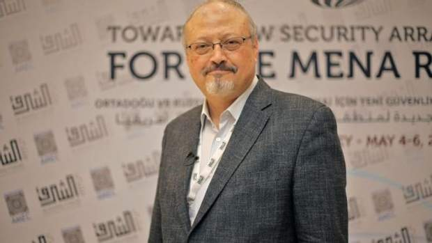 Журналіст Джамаль Хашоггі