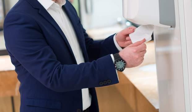 Використовуйте одноразові паперові рушники