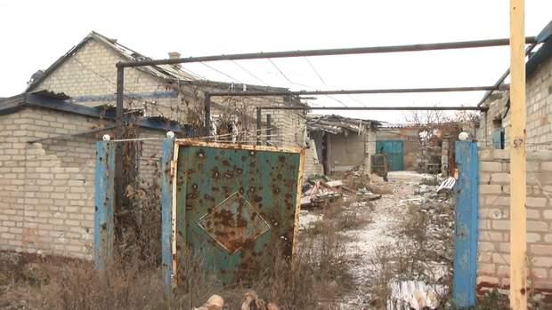 Будинки у Торецьку після обстрілів
