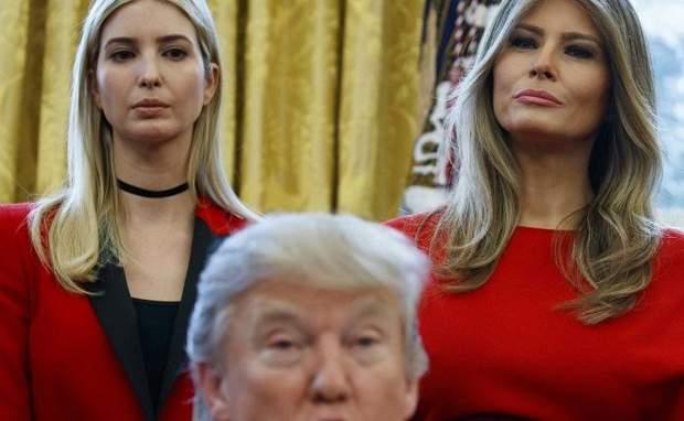 иванка трамп мелания трамп