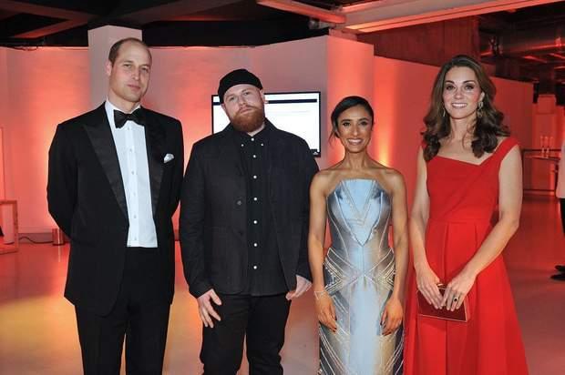 Королівська сім'я на Foundation Dinner у Лондоні