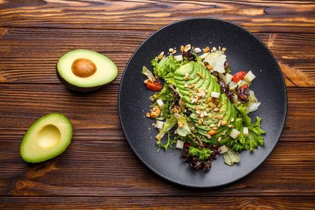 Авокадо, жир, рослина. зайва вага, схуднення