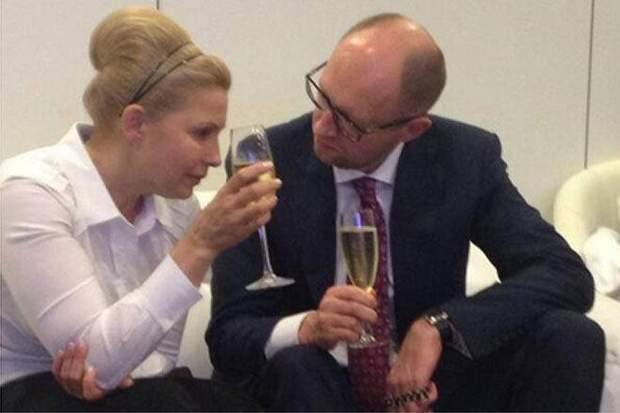 Юлія Тимошенко і Арсеній Яценюк