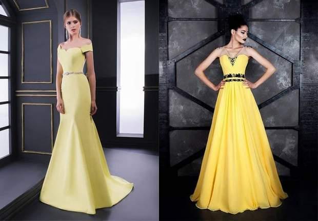 Рік Свині варто зустрічати у сукні жовтих тонів