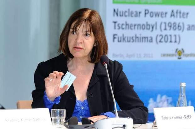 Депутат Європарламенту Ребека Гармс