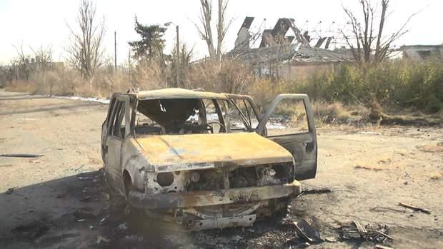 Проросійські бойовики обстріляли автівку ЗСУ