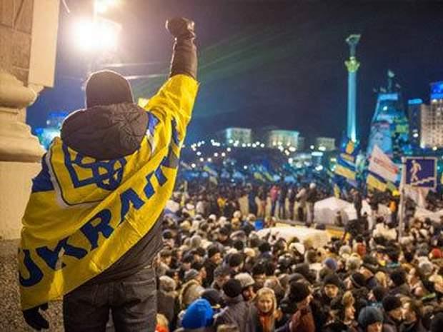 Євромайдан розпочинався із мирних протестів