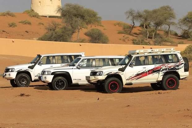 Автомобілі Patrol Falcon, Gazelleта та Gazelle-X
