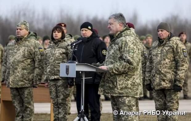 навчання десантників порошенко