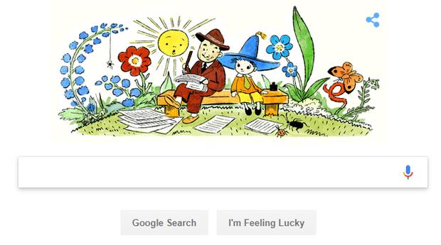 Google, дудл, Носов, дети, литература