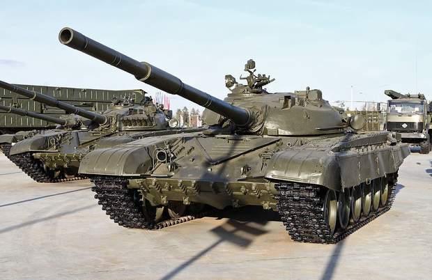 Радянські танки Т-72