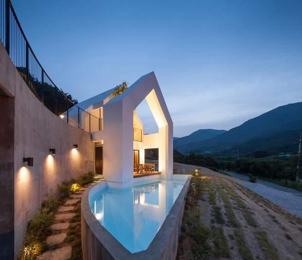 Будинок дерево Південна Корея