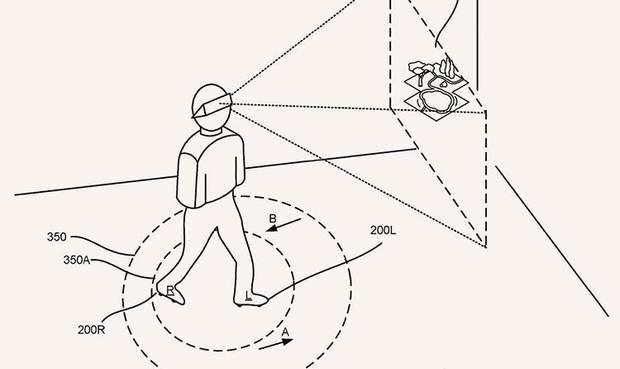 VR-взуття від Google
