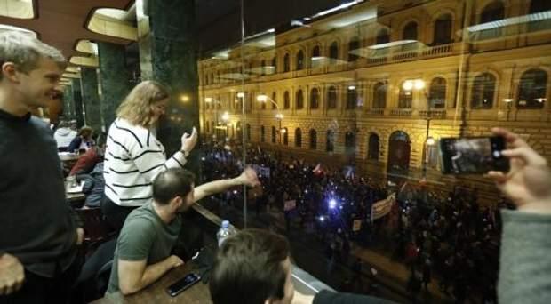 Чехія Протести Бабіш