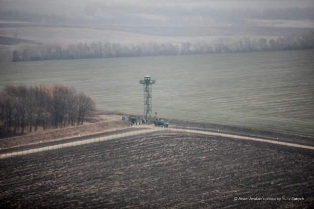 Стіна Кордон Україна-Росія