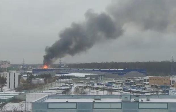 Москва Ринок Пожежа