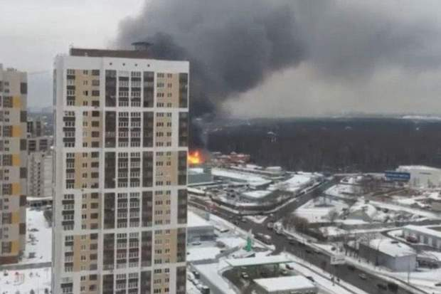 Москва горить ринок