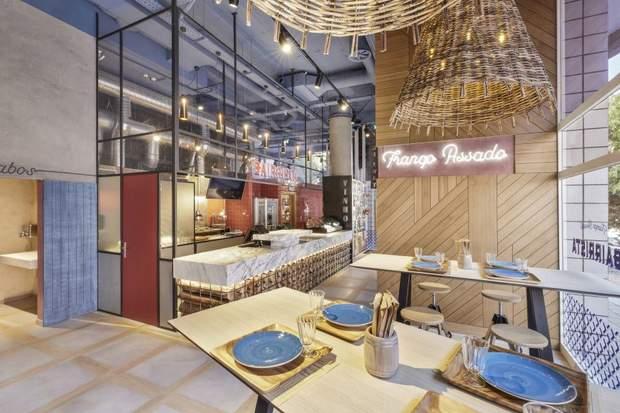 ресторан Лісабон дизайн Ярослав Галант