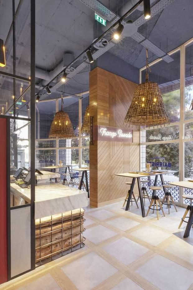 ресторан інтер'єр Лісабон
