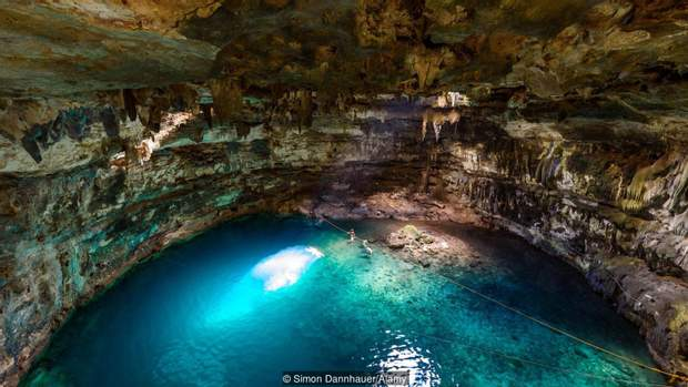 Печери на мексиканському півострові