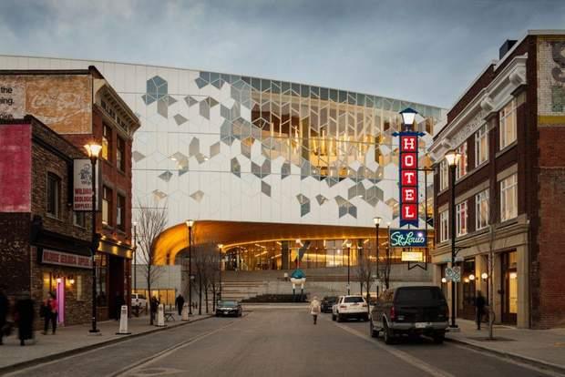 Канада Калгарі бібліотека будівля архітектура