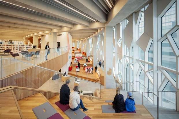 калгарі бібліотека будівля інтер'єр