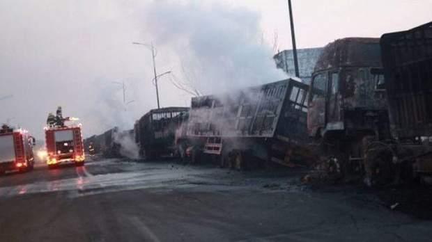 Китай, вибух, жертви