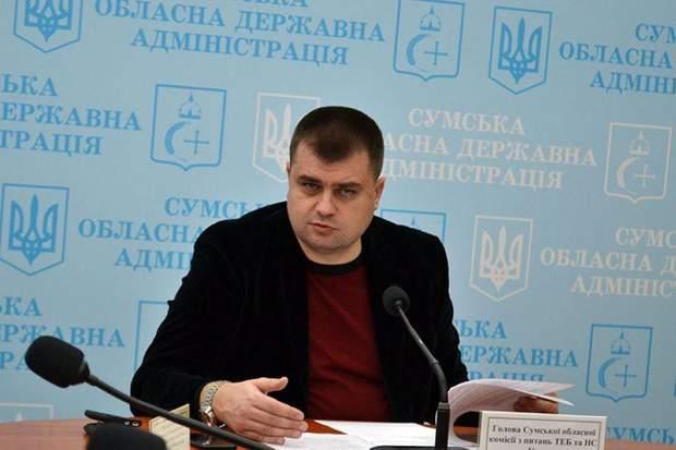 голова Сумської облдержадміністрації Микола Клочко