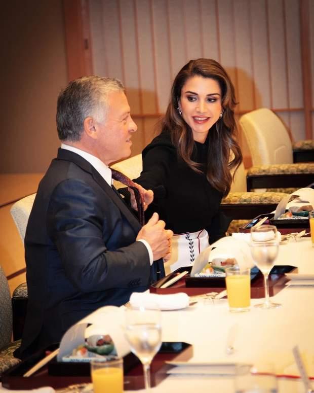Королева та король Йорданії