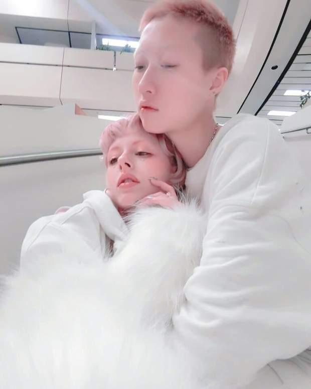 Дочка Джекі Чана Етта У Джолінь та її дружина Енді