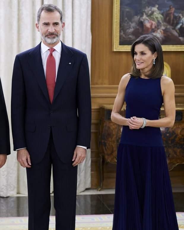 Королева Летиція з чоловіком Філіпом VI