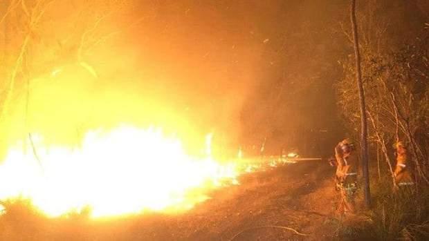 Масштабна пожежа в Австралії