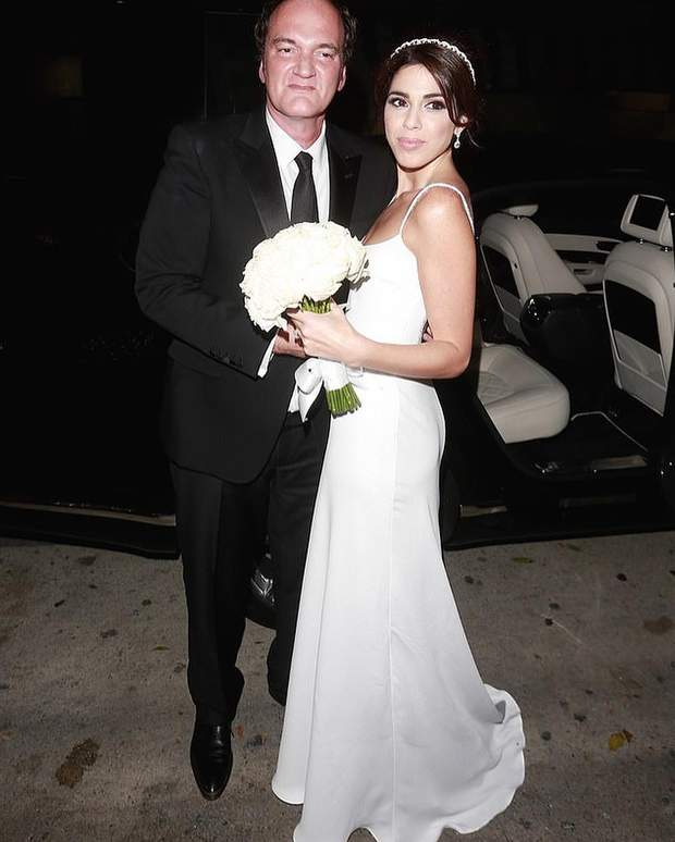 Квентин Тарантино и Даниэлла Пик поженились