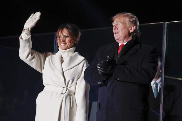 Меланія і Дональд Трамп