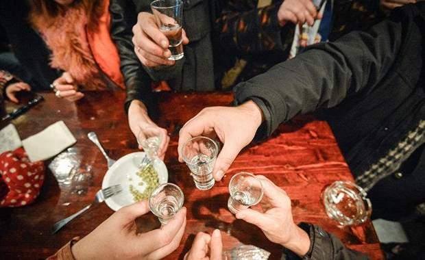 Алкоголь шокда
