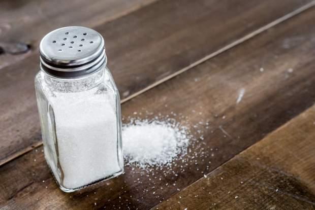 Вживання солі призводить до розвитку артеріальної гіпертензії