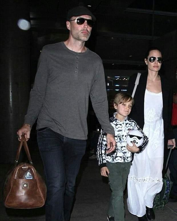Анджеліна Джолі та її брат Джеймс Хейвен