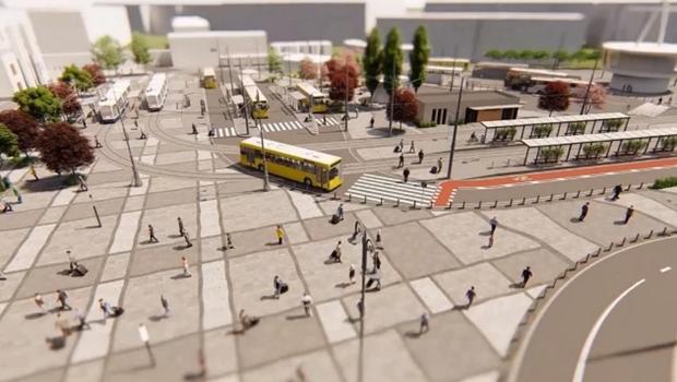 реконструкція вокзал площа Львів